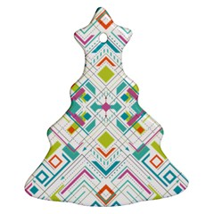 Graphic Design Geometry Shape Pattern Geometric Ornament (christmas Tree)