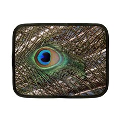 Peacock Tail Feathers Netbook Case (small)