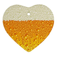 Bubble Beer Ornament (heart)