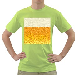 Bubble Beer Green T Shirt