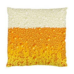 Bubble Beer Standard Cushion Case (one Side) by Wegoenart