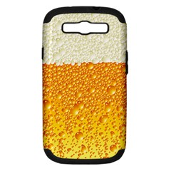 Bubble Beer Samsung Galaxy S Iii Hardshell Case (pc+silicone) by Wegoenart