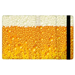 Bubble Beer Apple Ipad 2 Flip Case by Wegoenart