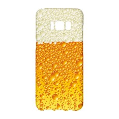 Bubble Beer Samsung Galaxy S8 Hardshell Case