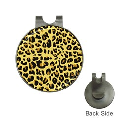 Animal Fur Skin Pattern Form Hat Clips With Golf Markers