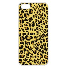 Animal Fur Skin Pattern Form Apple Iphone 5 Seamless Case (white) by Wegoenart