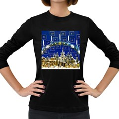 Advent Calendar Advent Gifts Women s Long Sleeve Dark T Shirt