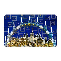 Advent Calendar Advent Gifts Magnet (rectangular)