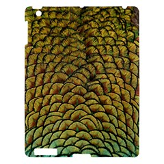 Peacock Bird Feather Color Apple Ipad 3/4 Hardshell Case