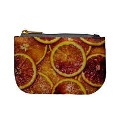 Blood Orange Fruit Citrus Fruits Mini Coin Purse