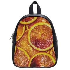 Blood Orange Fruit Citrus Fruits School Bag (small)