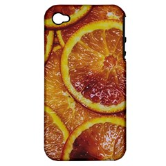 Blood Orange Fruit Citrus Fruits Apple Iphone 4/4s Hardshell Case (pc+silicone)