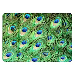 Peacock Feathers Peafowl Samsung Galaxy Tab 8 9  P7300 Flip Case by Wegoenart