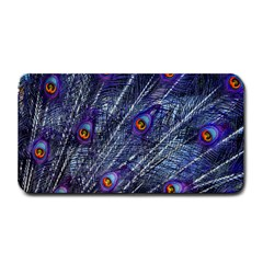 Peacock Feathers Color Plumage Medium Bar Mats