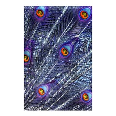 Peacock Feathers Color Plumage Shower Curtain 48  X 72  (small)