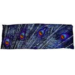 Peacock Feathers Color Plumage Body Pillow Case Dakimakura (two Sides)