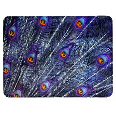 Peacock Feathers Color Plumage Samsung Galaxy Tab 7  P1000 Flip Case