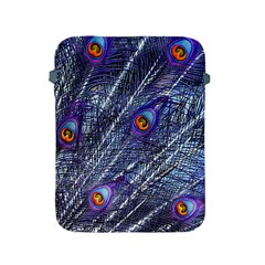 Peacock Feathers Color Plumage Apple Ipad 2/3/4 Protective Soft Cases