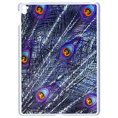 Peacock Feathers Color Plumage Apple Ipad Pro 9 7   White Seamless Case