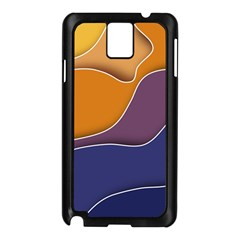 Autumn Copyspace Wallpaper Samsung Galaxy Note 3 N9005 Case (black) by Simbadda