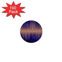 Background Dark Sound Disco Techno 1  Mini Buttons (100 Pack)  by Simbadda