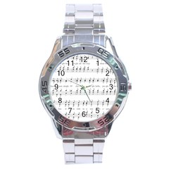 Jingle Bells Song Christmas Carol Stainless Steel Analogue Watch by Simbadda