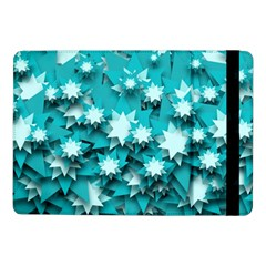 Stars Christmas Ice Decoration Samsung Galaxy Tab Pro 10 1  Flip Case by Simbadda