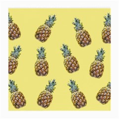 Pineapples Fruit Pattern Texture Medium Glasses Cloth by Simbadda