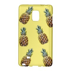 Pineapples Fruit Pattern Texture Samsung Galaxy Note Edge Hardshell Case by Simbadda
