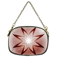 Star Christmas Festival Decoration Chain Purse (one Side) by Simbadda