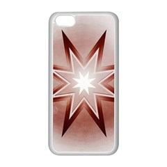 Star Christmas Festival Decoration Apple Iphone 5c Seamless Case (white) by Simbadda