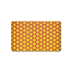 Texture Background Pattern Magnet (name Card) by Simbadda