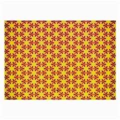 Texture Background Pattern Large Glasses Cloth (2 Side) by Simbadda