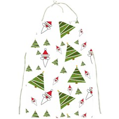 Christmas Santa Claus Decoration Full Print Aprons by Simbadda
