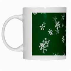 Template Winter Christmas Xmas White Mugs