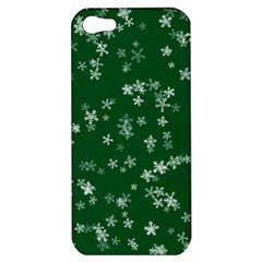 Template Winter Christmas Xmas Apple Iphone 5 Hardshell Case
