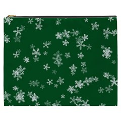 Template Winter Christmas Xmas Cosmetic Bag (xxxl)