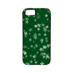 Template Winter Christmas Xmas Apple Iphone 5 Classic Hardshell Case (pc+silicone)