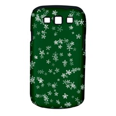 Template Winter Christmas Xmas Samsung Galaxy S Iii Classic Hardshell Case (pc+silicone)