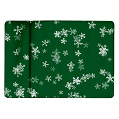 Template Winter Christmas Xmas Samsung Galaxy Tab 10 1  P7500 Flip Case