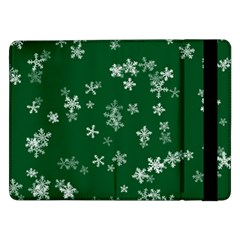 Template Winter Christmas Xmas Samsung Galaxy Tab Pro 12 2  Flip Case