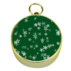 Template Winter Christmas Xmas Gold Compasses