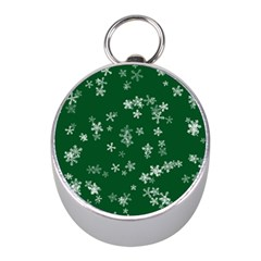 Template Winter Christmas Xmas Mini Silver Compasses
