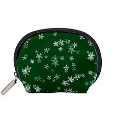 Template Winter Christmas Xmas Accessory Pouch (small)