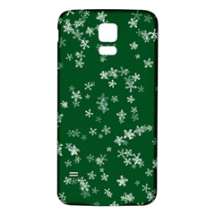 Template Winter Christmas Xmas Samsung Galaxy S5 Back Case (white)