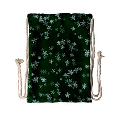 Template Winter Christmas Xmas Drawstring Bag (small)