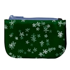 Template Winter Christmas Xmas Large Coin Purse