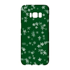Template Winter Christmas Xmas Samsung Galaxy S8 Hardshell Case