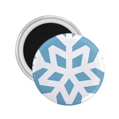 Snowflake Snow Flake White Winter 2 25  Magnets