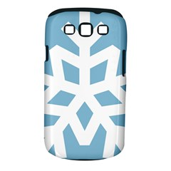 Snowflake Snow Flake White Winter Samsung Galaxy S Iii Classic Hardshell Case (pc+silicone)